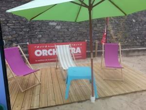 Espace parents, club Mickey, plage du Men-Du, La Trinité Sur Mer, Morbihan, Bretagne Sud
