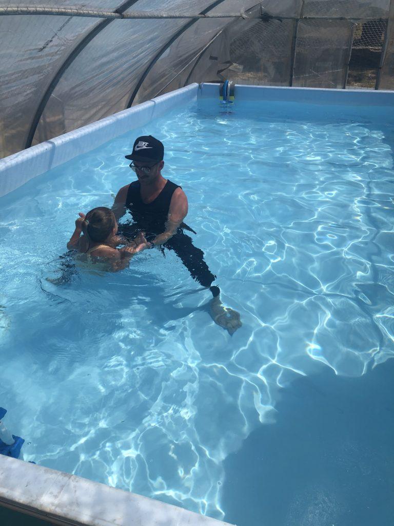 Leçons de natation individuelles au club Mickey La Trinité sur Mer/Carnac Plage du Men-Du